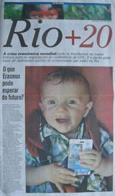 Erasmus in O Globo