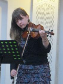 Rebecca Bryan violin