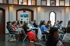 IEF conference audience