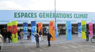 Entrance Climate Generations area