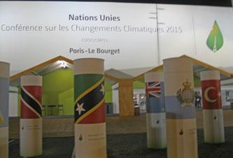 Entrance to COP21